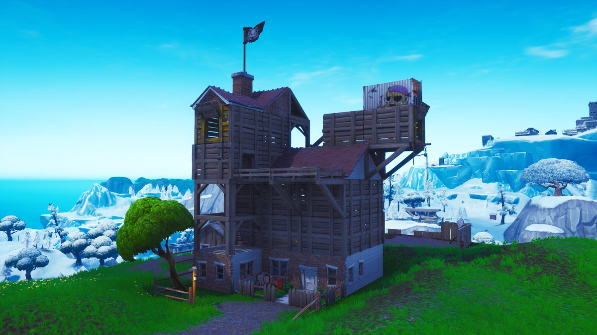 Fortnite Season 8 Map Changes - Pirate Camps
