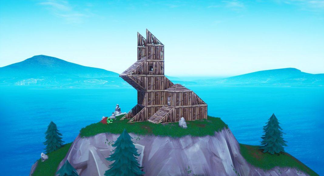 Fortnite Visit Wooden Rabbit Location