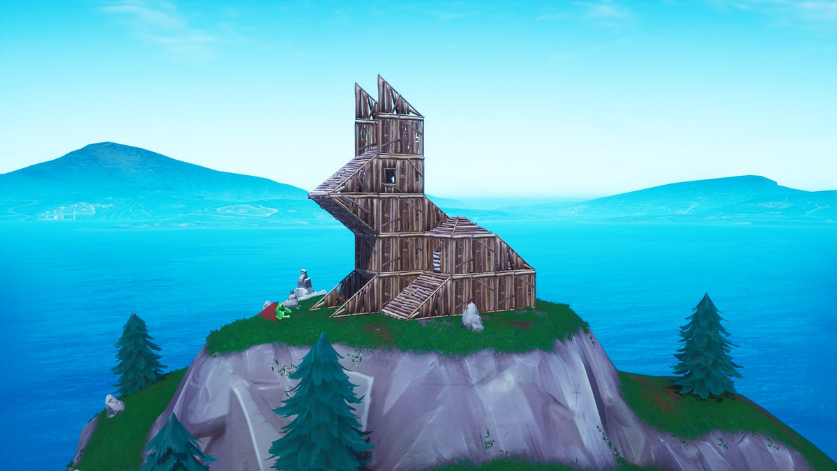 Fortnite Season 8 Map Changes - Rabbit Structure
