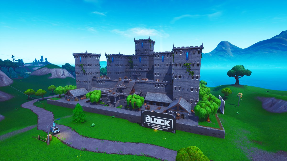 Fortnite Season 8 Map Changes - The Block
