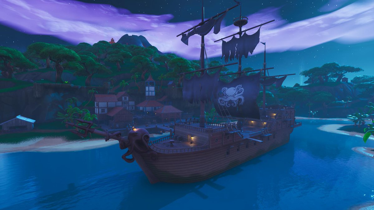 Fortnite Season 8 New POI - Lazy Lagoon