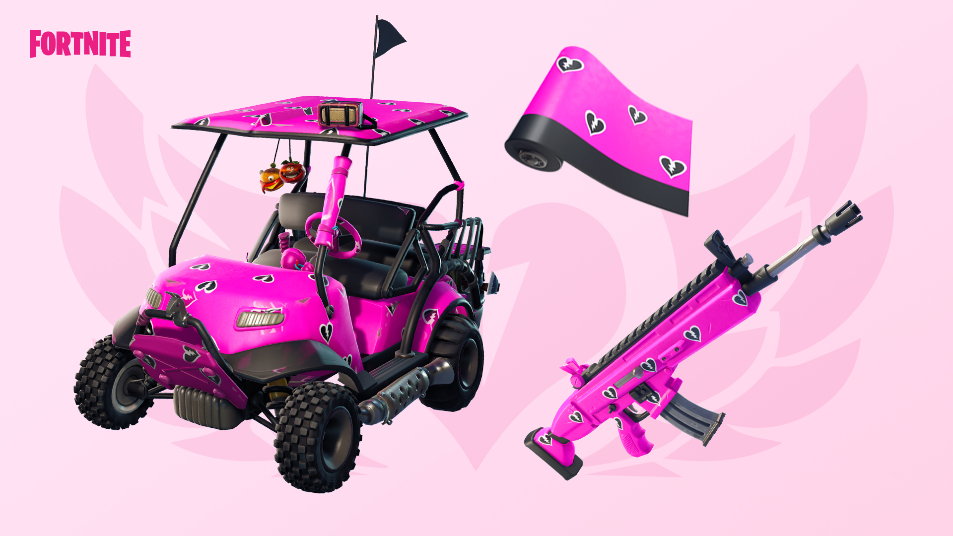 Fortnite Share the Love Cuddle Hearts Wrap