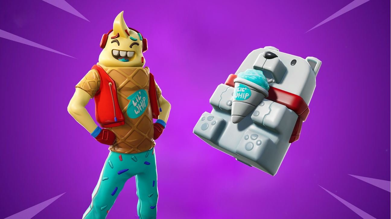 Fortnite Skin Lil Whip & Sno Cone