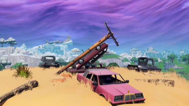 Fortnite Challenges Where To Find Destroy Wooden Utility Poles