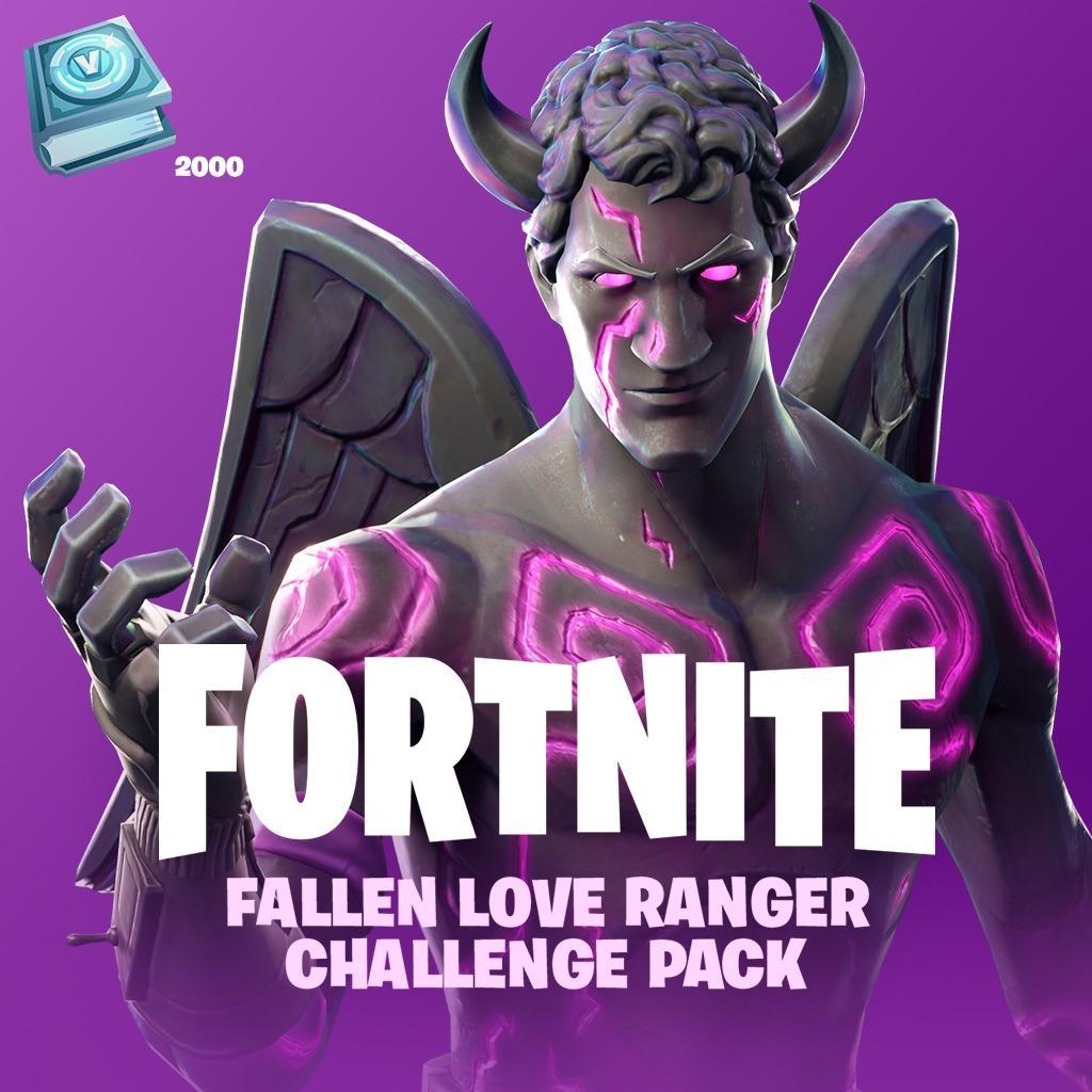 Dark Love Ranger Fortnite The Fallen Love Ranger Challenge Pack Is Available 15th February Fortnite Insider