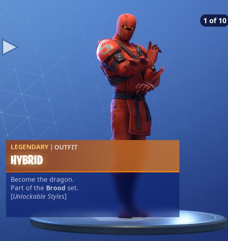 All Fortnite Season 8 Hybrid Battle Pass Skin Styles