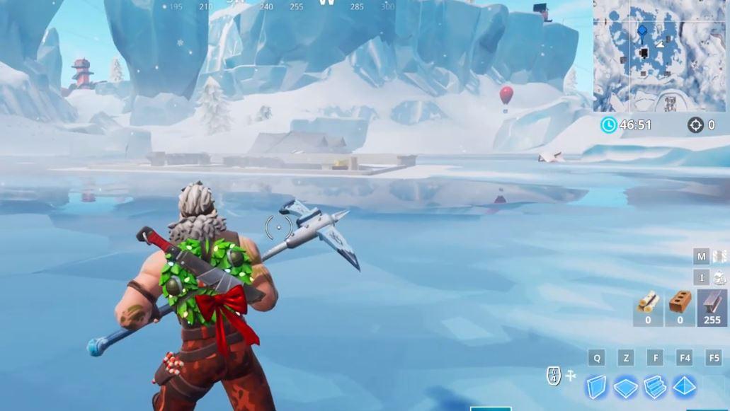 Fortnite Frozen Lake
