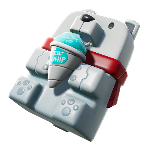 Leaked Fortnite Back Bling in v7.40 - Sno Cone