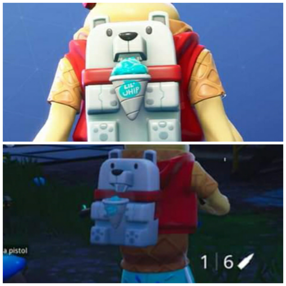 Lil Whip Reactive Sno Cone Back Bling