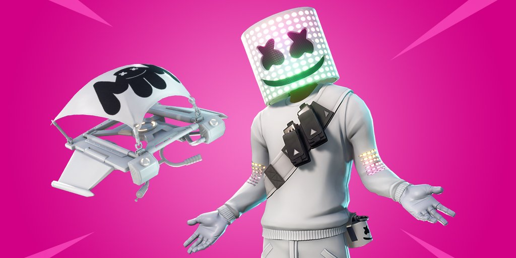Marshmello Fortnite Skin