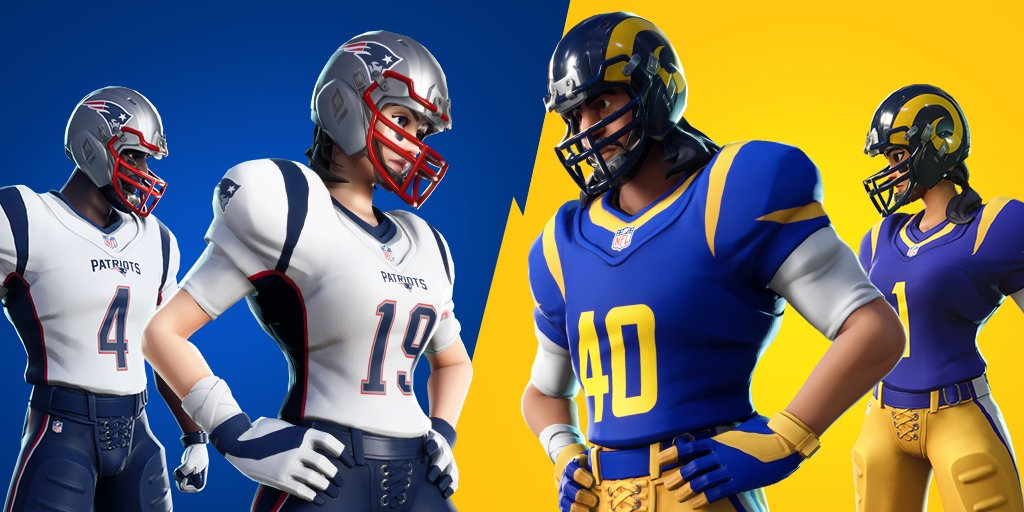 NFL Rumble Fortnite LTM