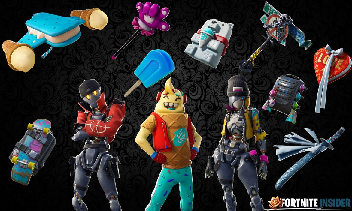 Names & Rarities of All Leaked Fortnite Skins & Cosmetics Found in