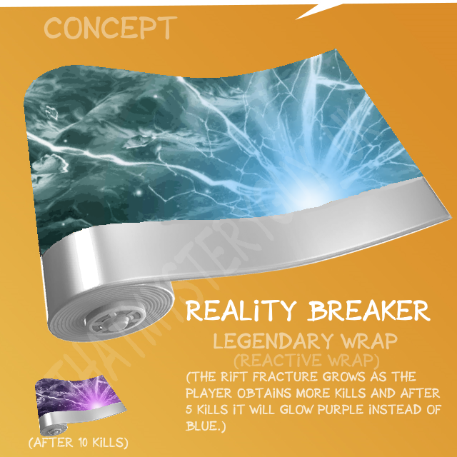 Reality Breaker Fortnite Wrap Concept