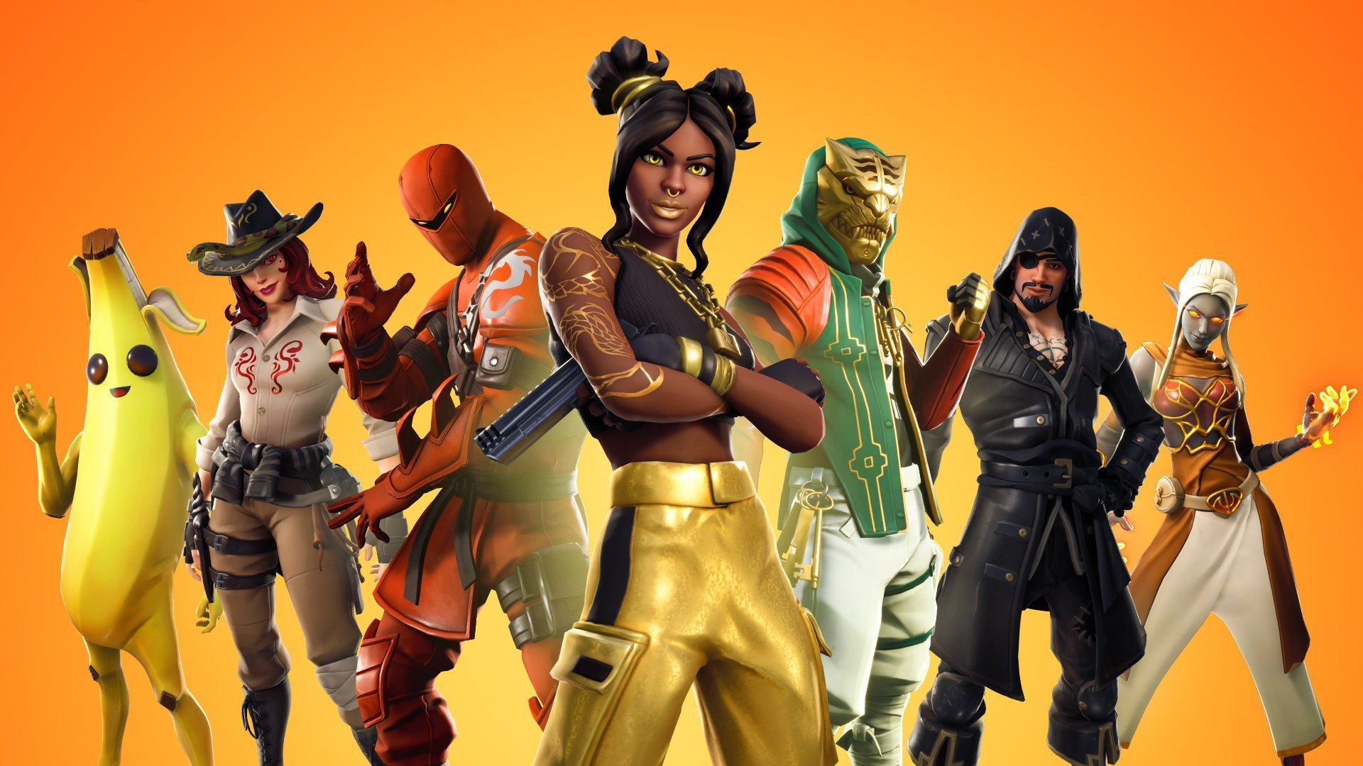 Fortnite Season 8 Battle Pass Skins