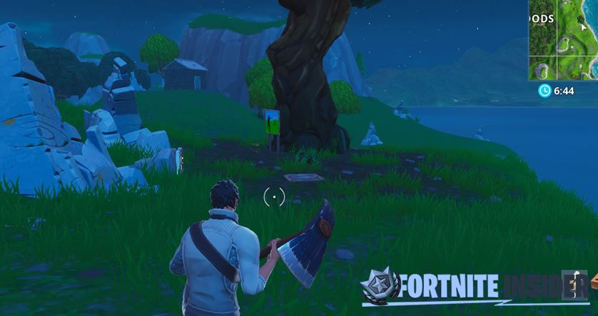 Shooting Gallery east of Wailing Woods