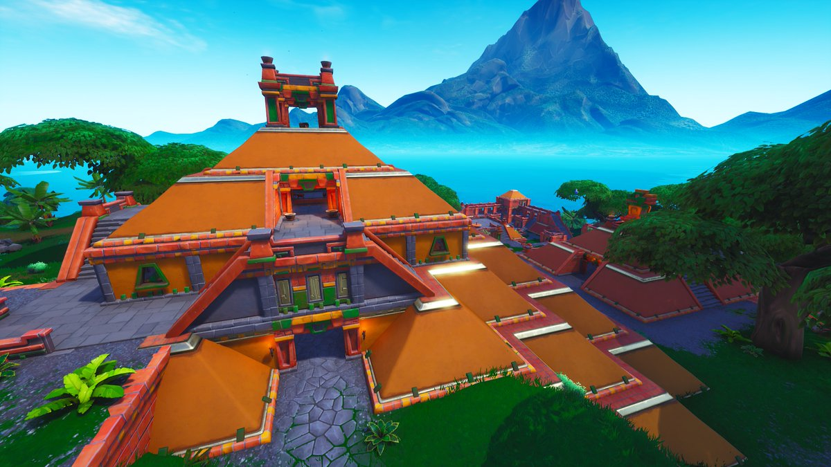 Fortnite Season 8 New POI - Sunny Steps