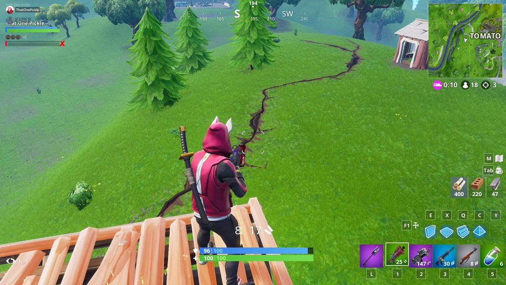 Cracks Are Starting To Appear On The Fortnite Map Fortnite