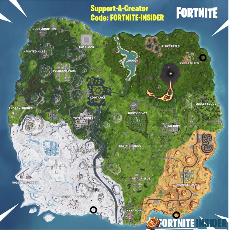 Visit a Giant Face in Desert, Jungle & Snow Challenge Map Location