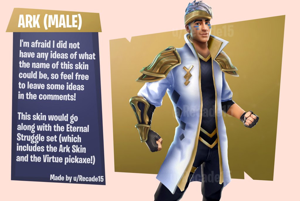 Ark Male Counterpark Skin Concept