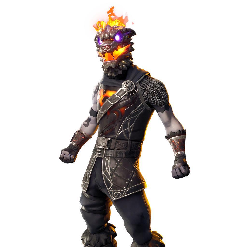 Molten Battle Hound (Legendary Outfit)