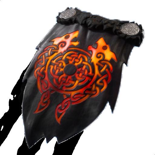 Molten Crested Cape (Legendary Back Bling)