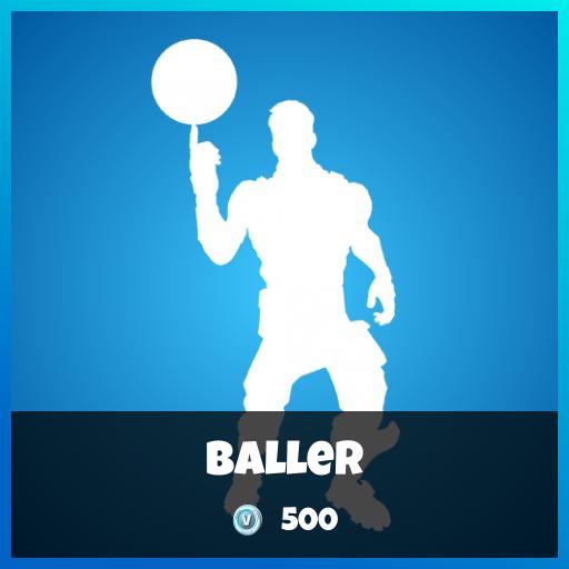Fortnite Emote - Baller