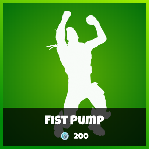 Fortnite Emote - Fist Pump