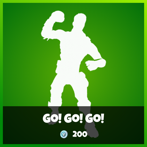 Fortnite Emote - Go! Go! Go!