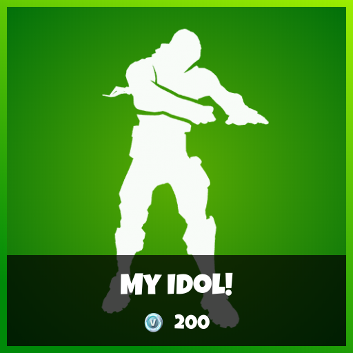 Fortnite Emote - My Idol!