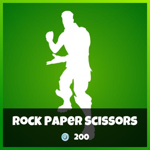 Fortnite Emote - Rock Paper Scissors