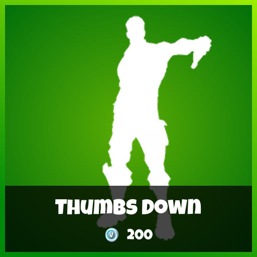 Fortnite Emote - Thumbs Down