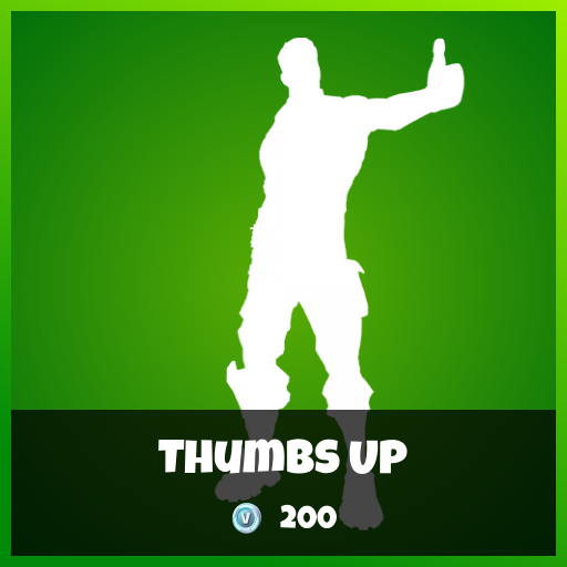 Fortnite Emote - Thumbs Up