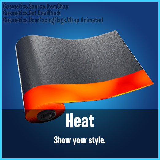 Fortnite Heat Animated Wrap