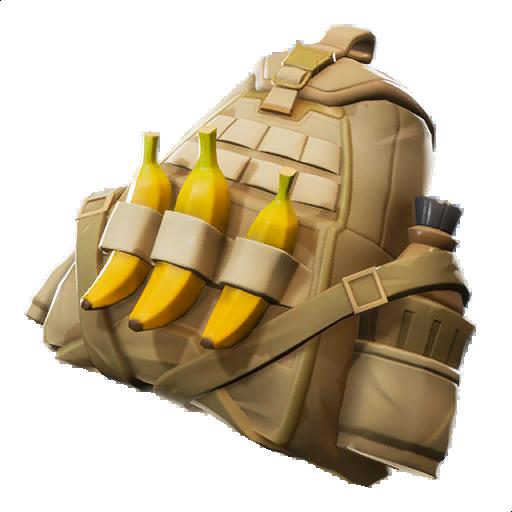 Fortnite Leaked Back Bling v8.10 Banana Bag