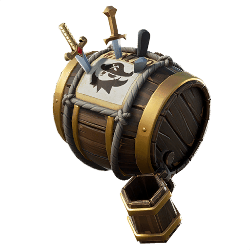 Fortnite Leaked Back Bling v8.20 - Barrel & Booty