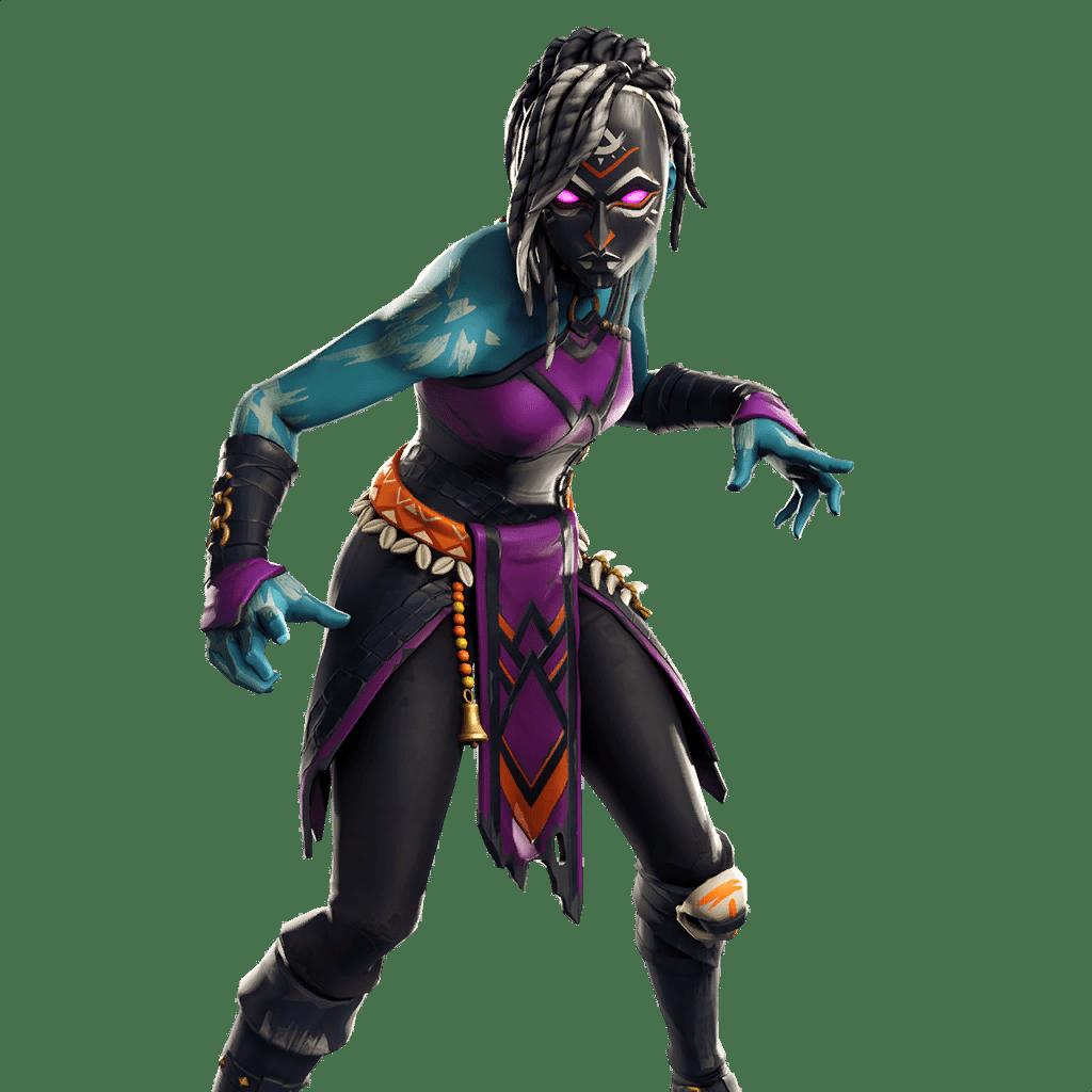 Fortnite Leaked Skin v8.20 - Nightwitch