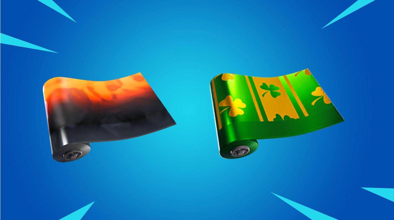 Fortnite Leaked Wraps Found in v8.10