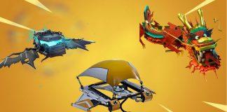 Fortnite Rarest Gliders
