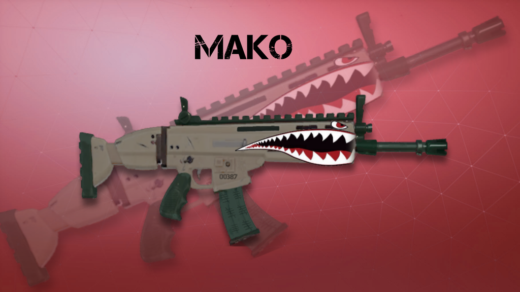 fortnite mako wrap concept - best gun wraps fortnite