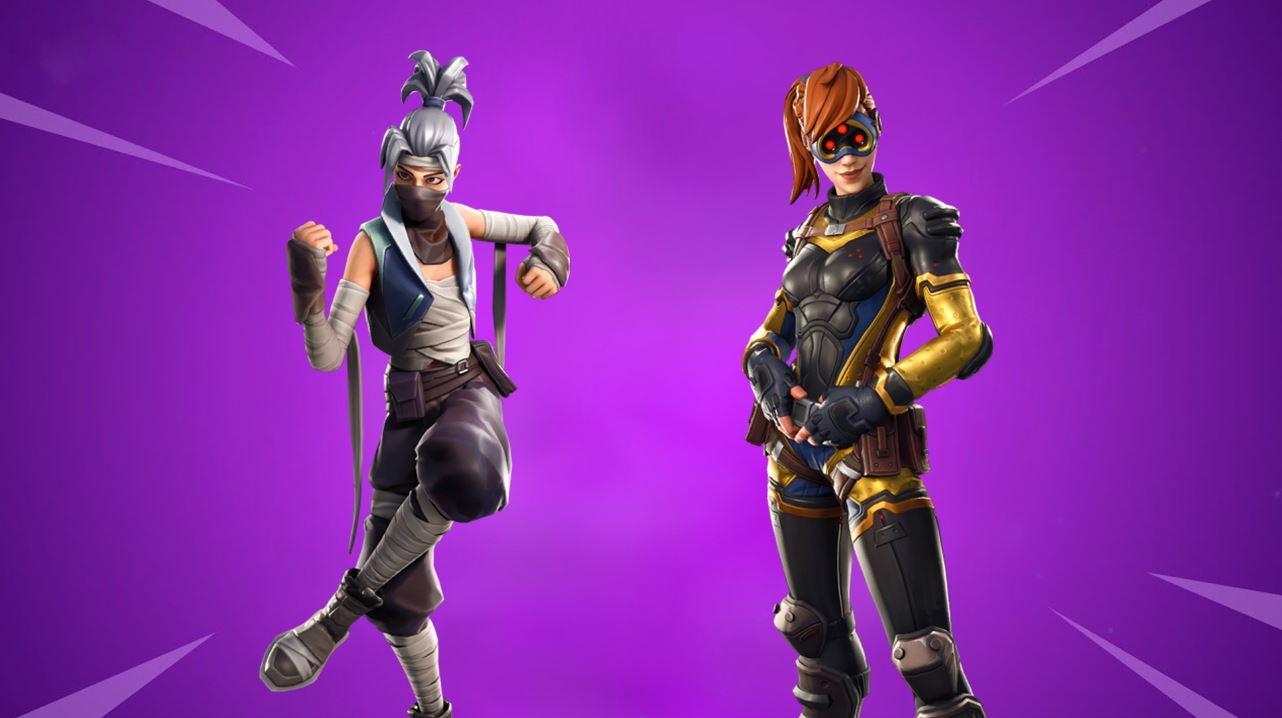 Fortnite v8.10 leaked skins