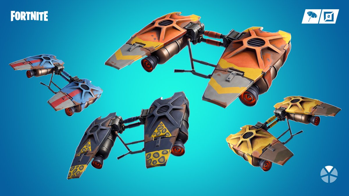 Fuel Gliders Fortnite