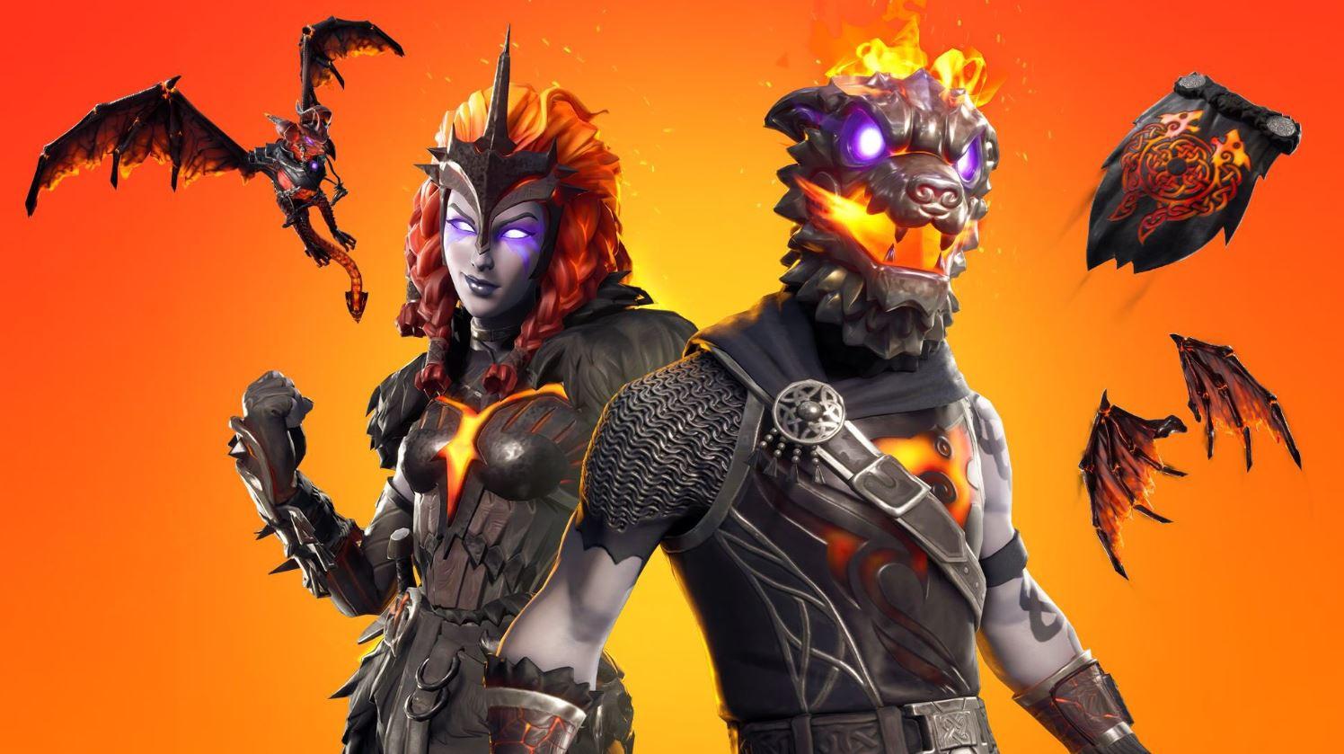Lava Legends Pack Fortnite Battle Royale