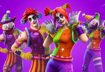 Nite Nite and Peekaboo Fortnite Skins