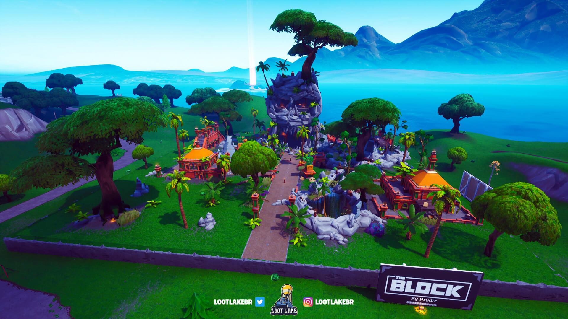 Skull Island Fortnite Block