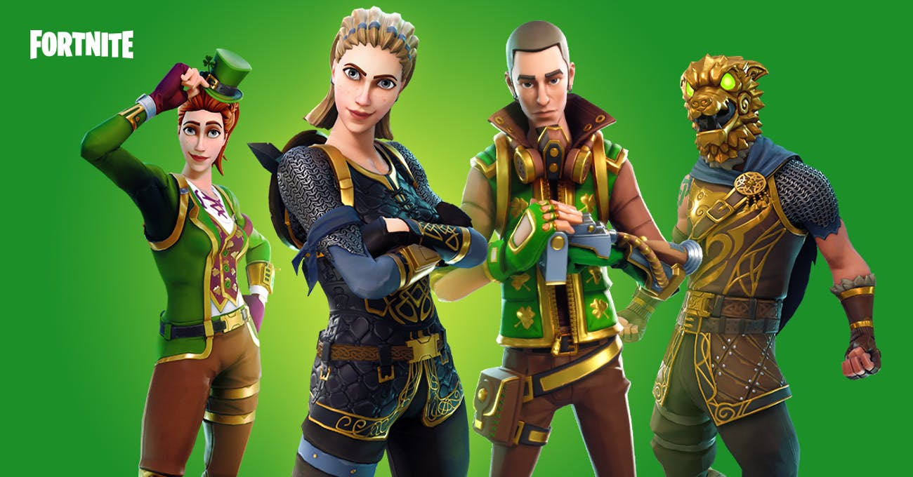 St. Patricks Day Fortnite