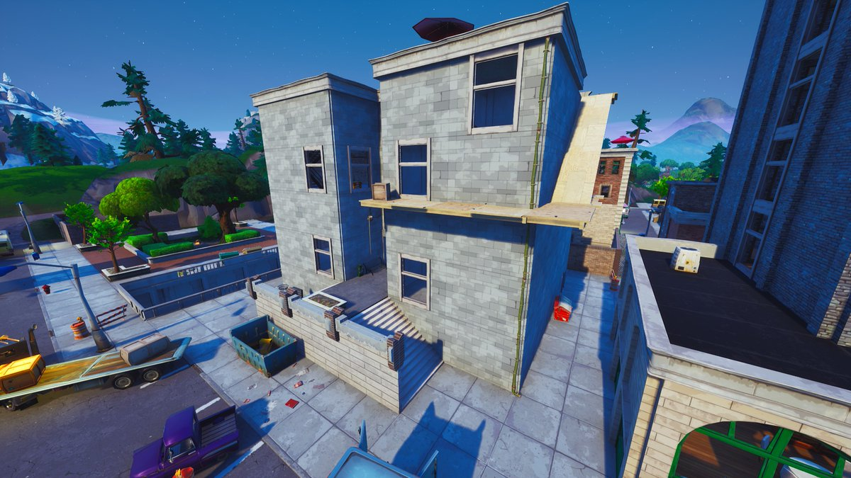 Tilted Towers Building Reconstruction