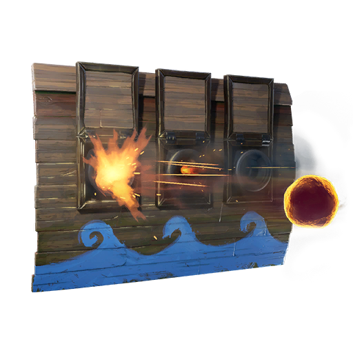 Wall Cannon Fortnite Trap