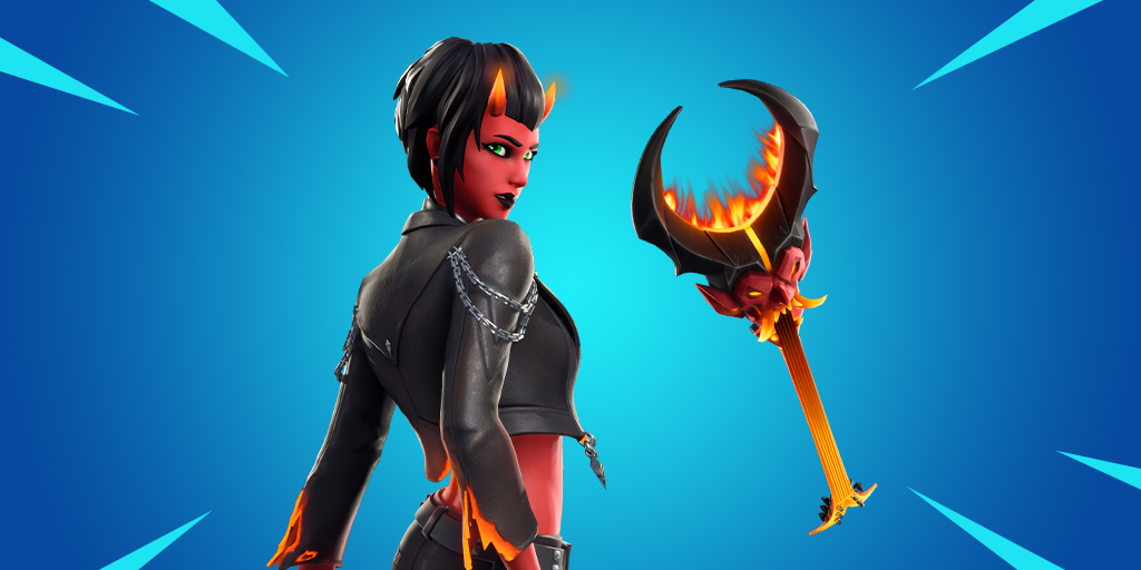 New Malice Fortnite Skin & Burning Axe Pickaxe