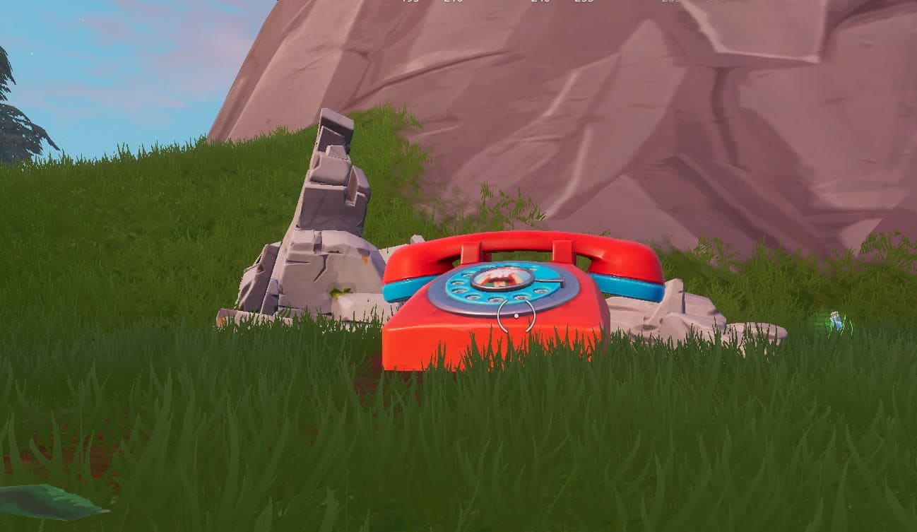 Where to find Fortnite's big telephones and phone numbers
