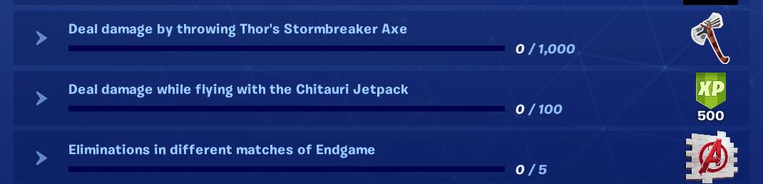 Fortnite Endgame Challenges - Day 2